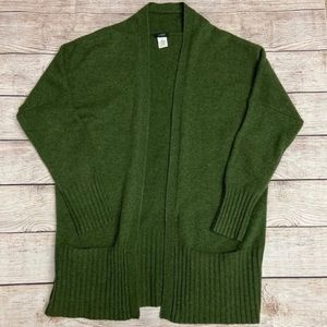 J.Crew Dream Ribbed Yoga Cardigan